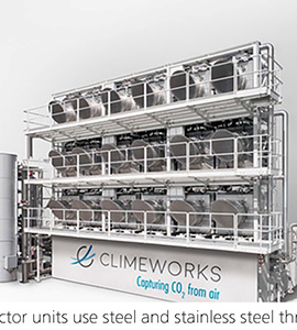 [worldsteel] Steel-built Carbon Capture Machines Are Removing CO2 from the Air
