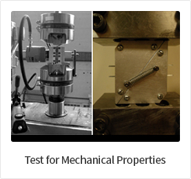 Test for Mechanical Properties